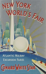 NEW YORK WORLD'S FAIR, CUNARD