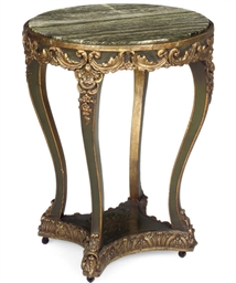 AN ITALIAN GILTWOOD COMPOSITIO