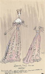 Costume design for Louise, 189