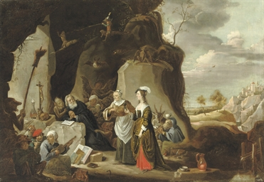 The Temptation of Saint Anthon