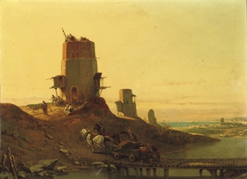 Arab mills along the Spanish c