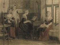Amsterdam orphan girls