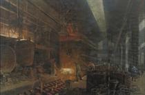 The Martin-Staalgieterij (Phoenix Stahlwerke) Hoerde 1912