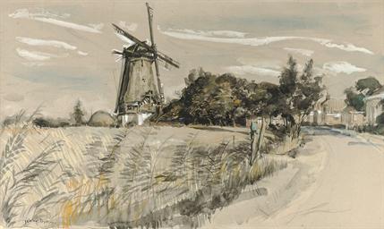 Windmill near Den Andel