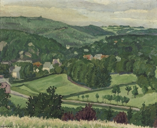 Landscape in Spa, Belgium