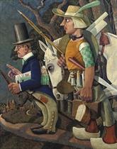 Don Quichotte & Sancho Panza of 'De nieuwe fabrikant met zijn hoofdvertegenwoordiger'