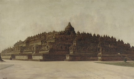 The Borobudur, Java