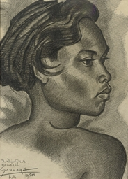 Portrait of Ida Wajang Gubuk