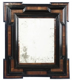 A FLEMISH WALNUT AND EBONISED