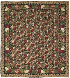 A NEEDLEWORK CARPET