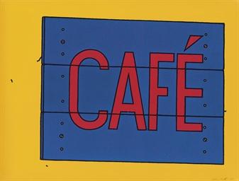 Café Sign (Cristea 12)
