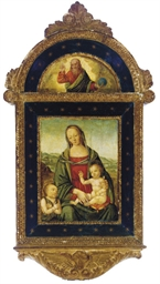 The Madonna and Child with Sai
