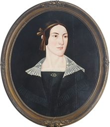 Portrait of a lady, with a bro