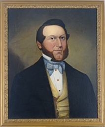 Portrait of a gentleman wearin