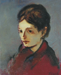 Portrait of Babette