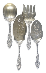 A SET OF AMERICA SILVER AND SI