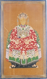 A CHINESE ANCESTOR PORTRAIT OF