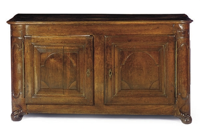 A FRANCO-FLEMISH OAK BUFFET,