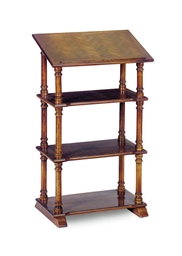 A MAHOGANY READING STAND,