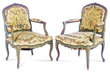 A PAIR OF FRENCH PROVINCIAL GR