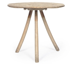 A PINE TRIPOD TABLE,