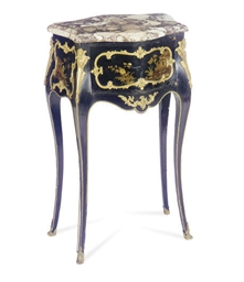 AN ORMOLU-MOUNTED LACQUERED AN