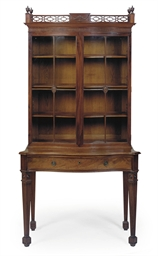 AN IRISH GEORGE III MAHOGANY S