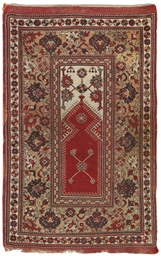 A MELAS PRAYER RUG, WESTERN AN