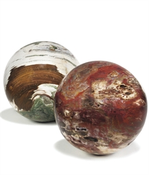 TWO MINERAL SPECIMENS OF OCEAN