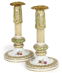A PAIR OF MEISSEN (MARCOLINI)