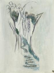Cascade (Eau coulant entre roc