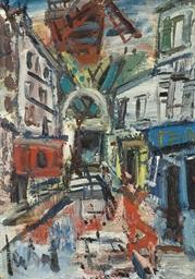 Montmartre, le Moulin de la Ga
