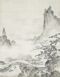 Chinese landscape after Shubun