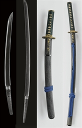 A Hizen Daisho Pair of Swords