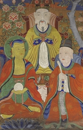 Three deities