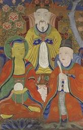 Three deities