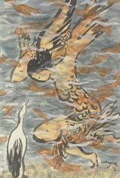Blue Heron I, 2007