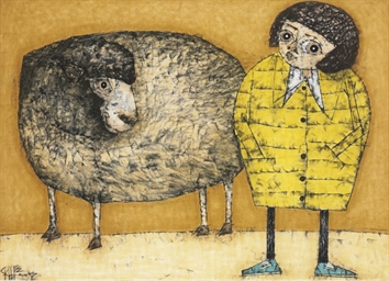 Girl with Sheep, 2007