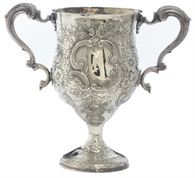 A GEORGE III IRISH SILVER TWO-