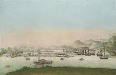 The East India Fleet at Whampo