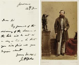 JOHN HANNING SPEKE (1827-1864)