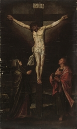 The Crucifixion with the Virgi