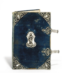 A SPANISH SILVER-MOUNTED BIBLE