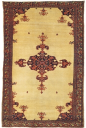An antique Feraghan rug