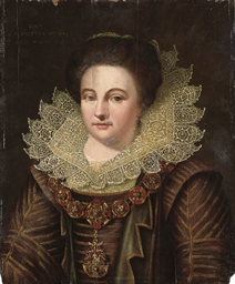 Portrait of Henrietta Otway, b