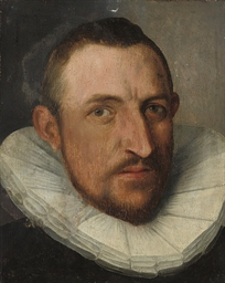 Portrait of a gentleman, head