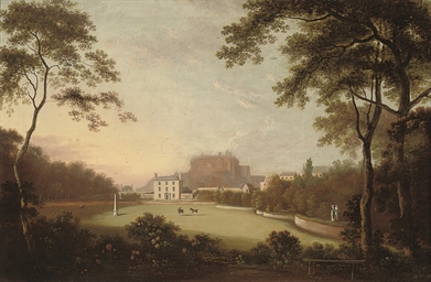 A view of Lauriston House and