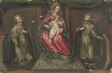The Virgin and Child with Bene