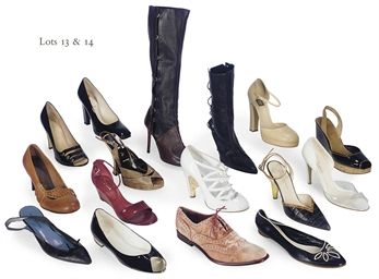 A COLLECTION OF DESIGNER SHOES