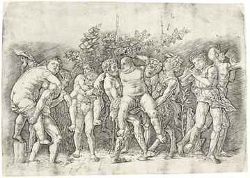 Bacchanal with Silenus (B. 20;